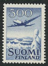 Finland 1958 Redrawn 300M Airmail Sc# C4 NH