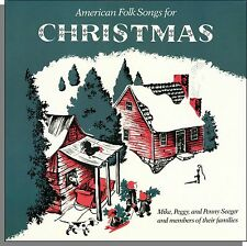 Mike, Peggy, and Penny Seeger - American Folk Songs For Christmas - LP Record!