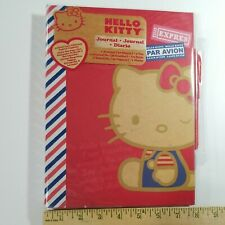 Hello Kitty Journal Scrapbook Diary 40 Different Pages 2012 New Pen Amp Jacket