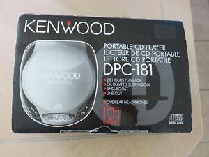 Kenwood Vintage Portable Cd Player Open Box DPC-181 w/ box