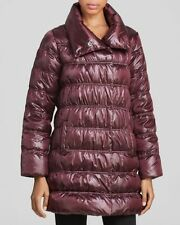 Polyester Petites Solid Puffer for Women