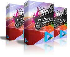 """Hd (1080) Royalty Free Stock Footage Videos """"Flying """" on DvD-Rom"""