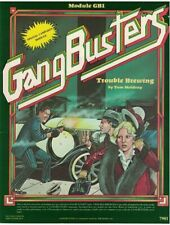 Gangbusters Special Campaign Module Trouble Brewing Role Playing TSR RPG
