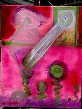 The Secret Door an Alternative Universe Buddhist Chintamani Jewel,Painting,Art