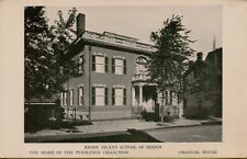 Colonial House School of Design Pendleton Collection Rhode Island Postcard A13