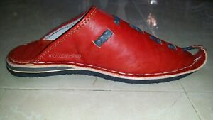 Moroccan Traditional Babouches, Slippers for Men ,Handmade Leather, Original