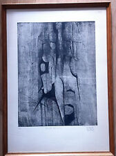 Belle lithographie  N° 4 Dedalo Montali (1909 - 2001)