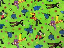 RPD575 The Beatles RARE Psychedelic Yellow Submarine Quilting Cotton Fabric