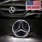 Illuminated 2013-2016 Car Motors Led Grille Logo Emblem Lights For Mercedes Benz