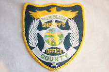 US Palm Beach County Sheriffs Office Florida Police Patch