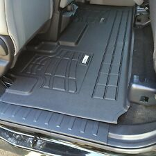 2015 - 2017 Ford F150 Super Cab 1-Piece Black Second Row Floor Liner