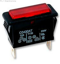 ARCOLECTRIC SWITCHES - C0430ATNAA - NEON INDICATOR, RED