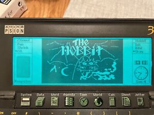 Psion Series 3a Flash SSD 128K with ZX Spectrum Hobbit, Manic or any other Games