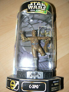 KENNER STAR WARS EPIC FORCE C-3PO 360 ROTATING FIGURE MINT IN BOX