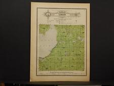 Minnesota Todd County Map Gordon Township c1914 Y8#31