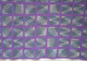 """GRANNY SQUARES CROCHETED BLANKET AFGHAN THROW with GRADATION PATTERN 63"""" x 48"""""""