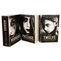 Passage Trilogy Series By Justin Cronin 3 Books Collection Set City of Mirrors