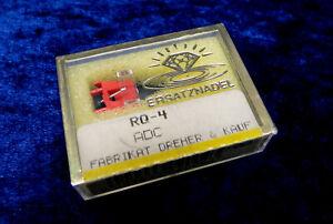 Plattenspieler Ersatz- NADEL ADC RQ-4 Turntable Stylus R-Q-4 Vinyl Record Player