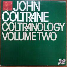 JOHN COLTRANE - COLTRANOLOGY VOL TWO LP VG/VG