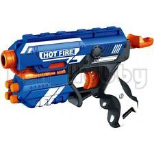 2 Packs of Blaze Storm Blue Manual Soft Bullet Guns
