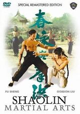 SHAOLIN MARTIAL ARTS - Hong Kong RARE Kung Fu Martial Arts Action movie