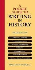 NEW - A Pocket Guide to Writing in History by Mary Lynn Rampolla