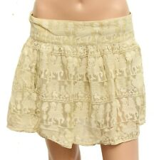Isabel Marant Women's Broderie Embroidered Cotton Short Mini Skirt Size M 2