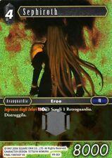 FINAL FANTASY TCG Sephiroth PR-001 FOIL ITA NEW RARE MINT PROMO
