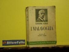 ART 4.986 LIBRO I MALAVOGLIA DI GIOVANNI VERGA 1956