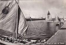 CESENATICO - Sosta di vele al Molo 1959