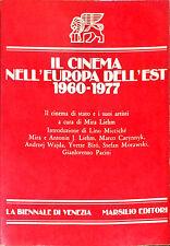 IL CINEMA NELL'EUROPA DELL'EST 1960-1977 - MARSILIO, 1977