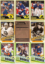 2012-13 OPC O-Pee-Chee New York Islanders Complete Team Set w/ RC & Legend (24)