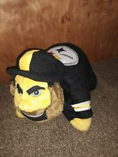 """NFL STEELERS PILLOW PET NFL LARGE 20"""" LONG 16"""" WIDE LICENSED OFFICIAL use"""
