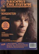 MODERN DRUMMER MAGAZINE - July 1990 ROD MORGENSTEIN / JOEY HEREDIA