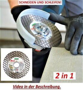 Cutting Disc Diamantscheibenfräser 1A1R125x1, 6x25 Edge Dry Max 2 IN 1