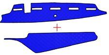 VOLVO FH 4 ab 2013 Passform Armaturenbrett und Ablage Abdeckung Kunstleder Blau