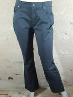 VALEUR 40 € OBER Taille 40 NEUF Superbe pantalon jeans jean denim gris femme boo