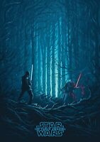 STAR WARS; THE FORCE AWAKENS Movie PHOTO Print POSTER IMAX 4of4 Rise Skywalker 4