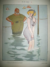 LE RIRE N° 295 CARICATURE HUMOUR DESSINS FABIANO HEMARD POULBOT FAIVRE 1908