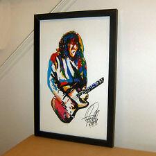 John Frusciante, Red Hot Chili Peppers, Guitar Player, Rock, 11x17 PRINT w/COA 2