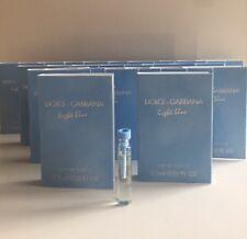 25✖️Dolce & Gabbana Light Blue for Women EDT Sample Vials .05 oz 1.5 ml Each~Lot