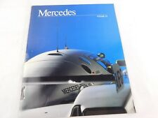 Vintage Original Mercedes Benz Prospectus Volume 32 1990