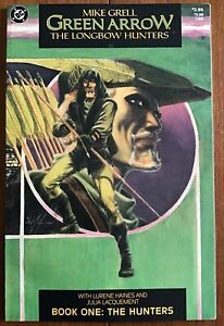 DC Comics Green Arrow: The Longbow Hunters Book One Mike Grell Starts at $4.95!