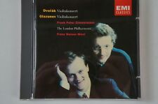Dvorak Glazunov Violinkonzerte Frank Peter Zimmermann Franz Welser Möst EMI cd61