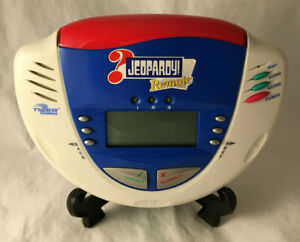 Jeopardy Remote Portable Game Show Electronic Handheld Game - Hasbro 2003 Tested