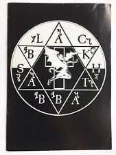 Black Sabbath Programme and Ticket 1980 - 1981 World Tour - Heaven and Hell DIO