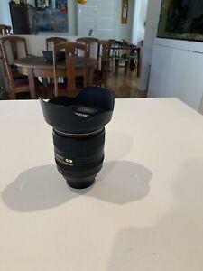 Nikon lens 10-20mm AF-P f/4:5-5.6 VR Fish Eye effect