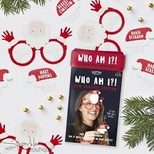 CHRISTMAS 'WHO AM I?' GAME -Festive Xmas Party Icebreaker/Guessing Game All Ages