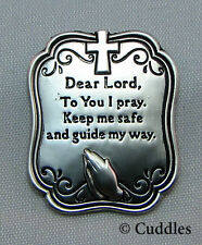 By My Side The Lord Is With You Wherever You Go Charm Ganz Metal Religious N