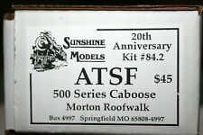 SUNSHINE MODELS KIT # 84.2 500 SERIES CABOOSE